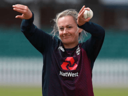 England off-spinner Laura Marsh