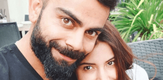 Virat Kohli and his actress wife Anushka Sharma