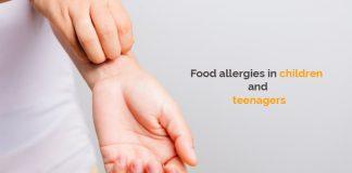 Food allergies in children and teenagers