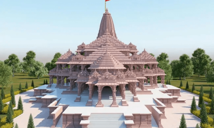 Ayodhya temple construction
