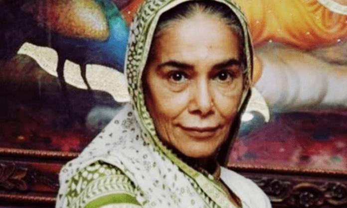 Veteran actress Surekha Sikri