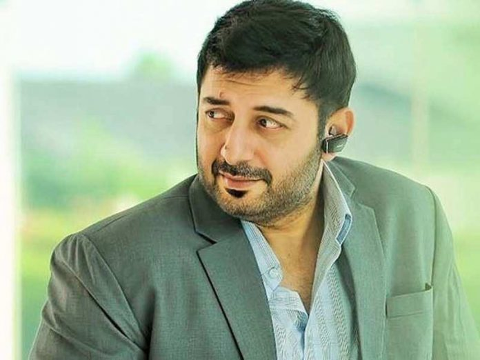 Arvind Swamy as the main villain of the film